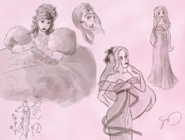 Sketches - Giselle by seystudios