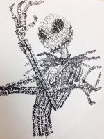 Jack Skellington Typography by DBrat924