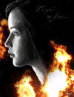 The Girl on Fire.. by Pondd