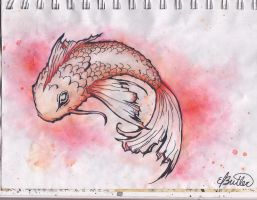 Koi fish attempt by music-lurv