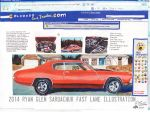 The Life Story Of A 1970 Chevy Chevelle (Part 40) by FastLaneIllustration