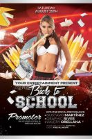 Back to School 02 | Flyer Template by Valery-10
