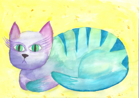Watercolor Practice by the-pink-dragon