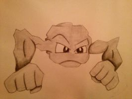 Geodude by GreenMonkey645