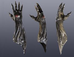 witchblade gauntlet by nebezial