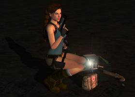 Classic Lara 2 by tombraider4ever