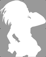 Haruhi Silhouette by Conker-T-Squirrell