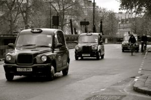 London Taxi by HGABALDON