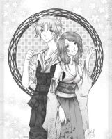 Tidus and Yuna by luna-rouge