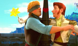 Kristoff and Hans by Simmeh