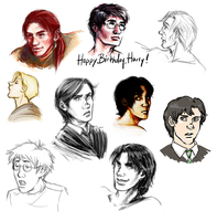 HP Doodles by trowicia