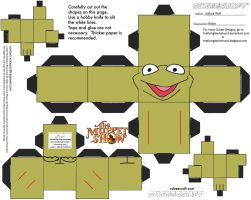 Muppets 5: Robin Cubee by TheFlyingDachshund