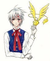 D. Gray-Man: Allen Walker 2 by bluebirdjoy