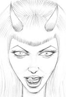 Demoness 5-24-2015 by myconius