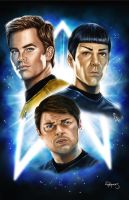 New Star Trek Big 3 by vividfury