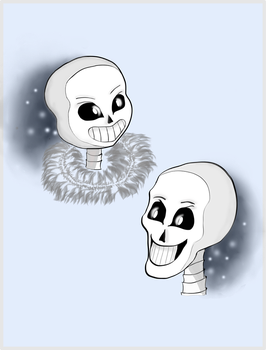 Skelebros by EmbraceSweetness