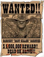 WANTED BABY KILLER BARNNES by Sweet-Babboo
