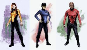 Star Trek Parallel Lives costume designs by gattadonna