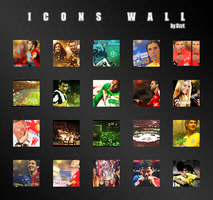 Icons Wall by Ccrt