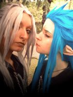 Xemnas and Saix cosplay - 02 by pallottili