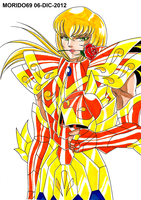 CARDINALE DE PISCIS-SAINT SEIYA ND (MARKER-COLOR) by MUERTITO69