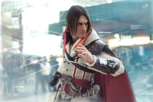 Updating Animus - Ezio Auditore Cosplay AC2 - Leon by LeonChiroCosplayArt
