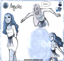 Angelite  by BlootheFroo