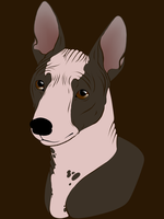SimpliciTee - American Hairless Terrier T-Shirt by RocWulf