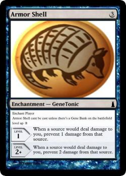 Armor Shell Gene Tonic MTG card by dixyn0rmous