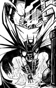Batman by cueball37