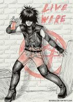 Live Wire by SavanasArt