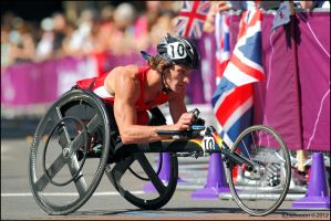 Mens Paralympic Marathon 2012 by andy-j-s