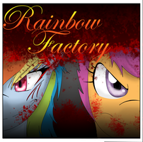 Rainbow Factory- Title Page by AdamsSketches