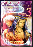 Saharah and the King of Fools Ch 3 Cover~Visions by MoonOfYomi