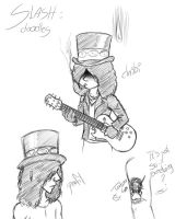 Slash doodles? by LxiArt