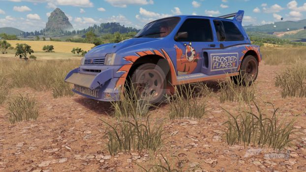 MG Metro 6R4 Frosted Flakes by iannathedriveress