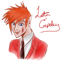 Rather Happy Crepsley by Pabbie