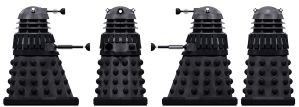 Renegade Dalek by Librarian-bot