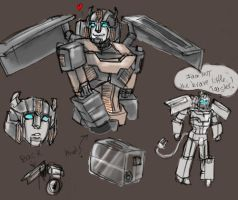 Toaster the Transformer by batchix