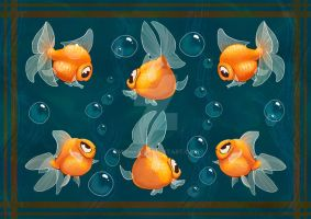 Goldfishs by Midsea