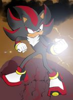 Shadow the Hedgehog :colored: by Biusx