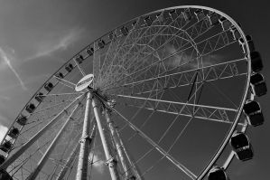 BW Wheel by MarinCristina