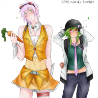 Wearing Each Others Clothes by GiStil