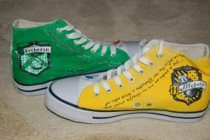 custom painted hp shoes 6 by ratticuss