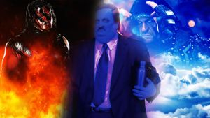 Kane Paul Bearer and Undertaker by barrymk100