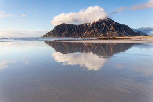Flakstad Reflection by EvaMcDermott
