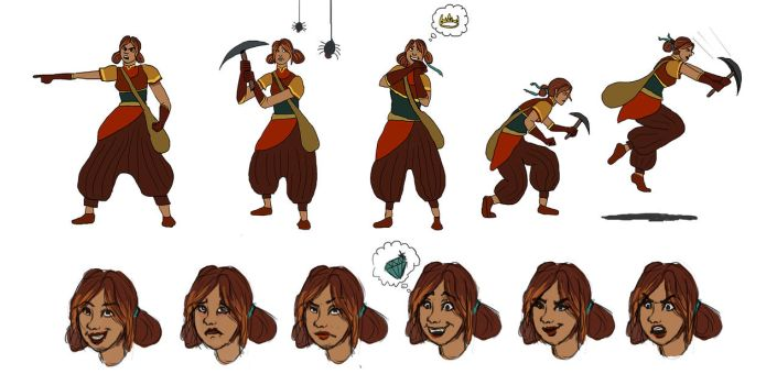 Treasure Hunter Actions and Expressions by Licorize
