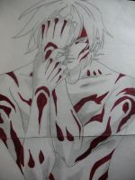 Hotaru blood paint by Twisted462