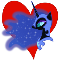 I heart Nightmare Moon by Stinkehund