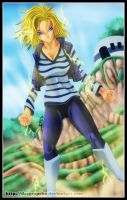 Android 18 - DB ! by dazgrapcho